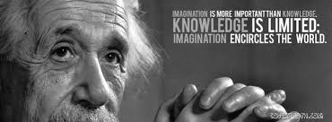 Imagination is more important than Knowledge